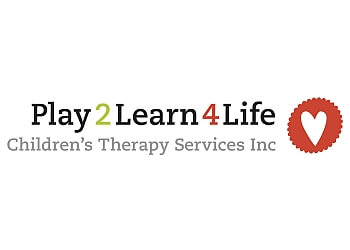 Vancouver occupational therapist Play 2 Learn 4 Life Children's Therapy Services