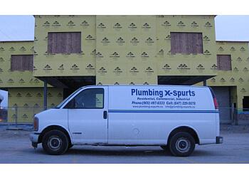 Brampton plumber Plumbing X-spurts
