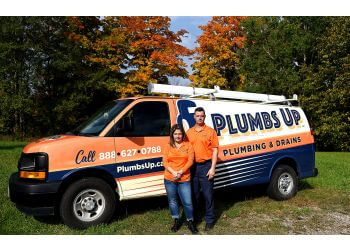 Orangeville plumber Plumbs Up Plumbing & Drains