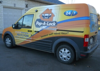 Brampton locksmith Pop-A-Lock