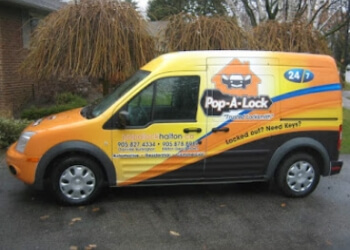 Oakville locksmith Pop-A-Lock