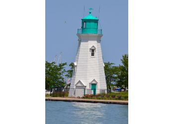 St Catharines landmark Port Dalhousie Range Lighthouses