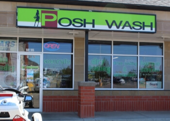 Medicine Hat dry cleaner Posh Wash