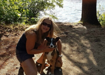 Burlington dog trainer Positive Pups Dog Training