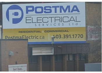 Red Deer electrician Postma Electrical Services Ltd.
