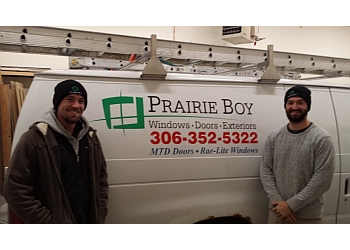 Regina window company Prairie Boy Windows