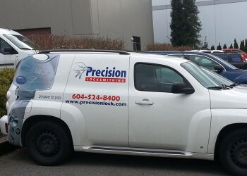 Coquitlam locksmith Precision Locksmithing Corporation