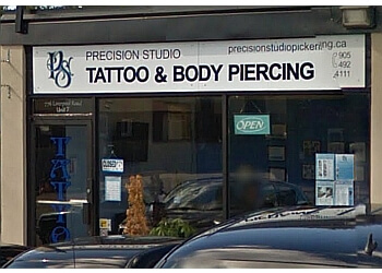 Pickering tattoo shop Precision Studio
