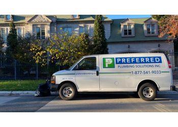 Markham plumber Preferred Plumbing Solutions Inc.