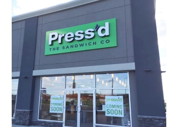 Saskatoon sandwich shop Press'd The Sandwich Co.