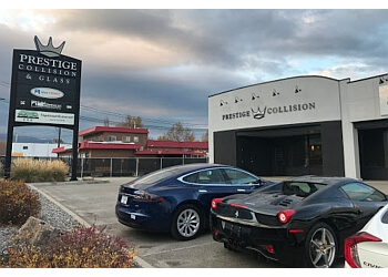 Kelowna auto body shop Prestige Collision