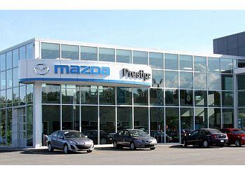 Shawinigan car dealership Prestige Mazda