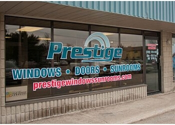Peterborough window company Prestige Windows, Doors & Sunrooms