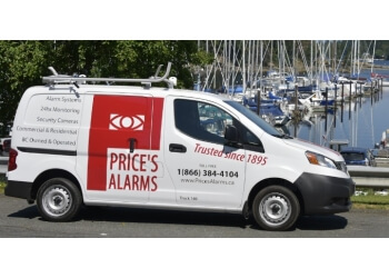Nanaimo security system Price's Alarms