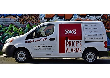 Victoria security system Price's Alarms