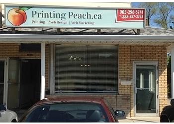 Burlington printer Printing Peach