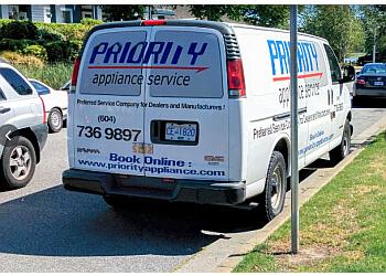 Richmond appliance repair service Priority Appliance Service