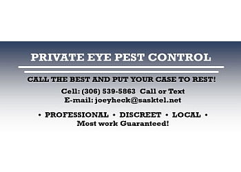 Regina pest control Private Eye Pest Control