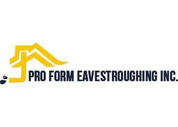 Ottawa gutter cleaner Pro Form Eavestroughing Inc.