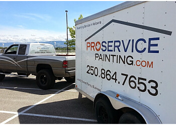 Kelowna painter Pro Service Painting