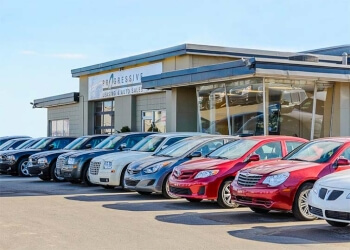 Calgary used car dealership Progressive Leasing and Auto Sales