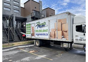 Ottawa moving company Pronto Movers