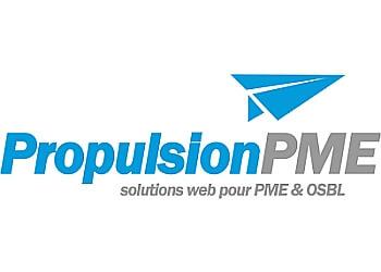 Drummondville web designer Propulsion PME