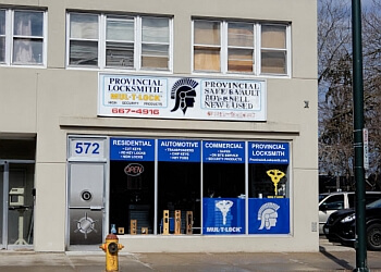 London locksmith Provincial Locksmith Inc.