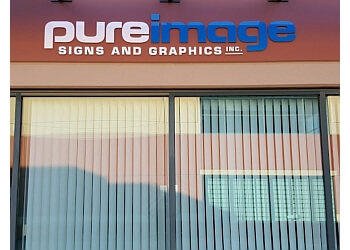 Maple Ridge sign company Pure Image Signs and Graphics
