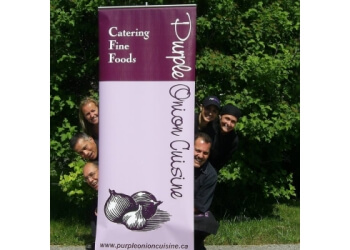 Stouffville caterer Purple Onion Cuisine