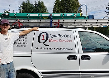 Coquitlam window cleaner Quality One Home Services