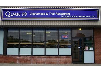 Brantford vietnamese restaurant Quan 99 Thai & Vietnamese restaurant
