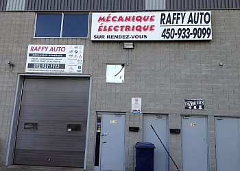 Laval car repair shop RAFFY AUTO