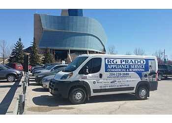 Winnipeg appliance repair service RG Prado Appliance Service