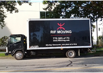 Burnaby moving company RIF Moving