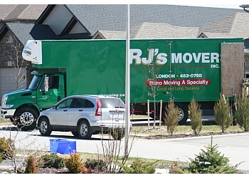 London moving company RJ's Movers