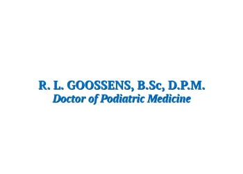 London podiatrist R.L. Goossens, DPM