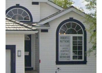Airdrie notary public ROBERT C. MATTHEWS