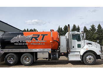 St Albert septic tank service RT SEPTIC & WATER SYSTEMS INC.
