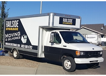 Medicine Hat moving company Railside Storage & Moving Inc.