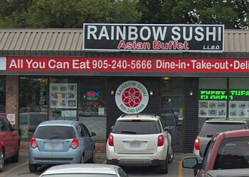 Oshawa sushi Rainbow Sushi