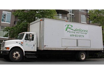 Richmond moving company Rainforest Moving and Storage
