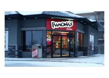 Grande Prairie pizza place Ramona's Pizza