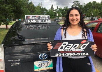 Winnipeg driving school Rapid Driving School