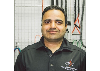 Surrey physical therapist Ravi Dev, PT