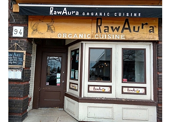 Mississauga vegetarian restaurant Raw Aura restaurant