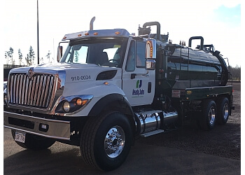 Fredericton septic tank service Ready John Environmental Services