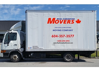 New Westminster moving company Real Canadian Movers