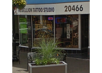 Langley tattoo shop Rebellion Tattoo Studio