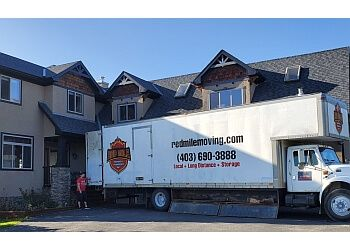Calgary moving company Red Mile Moving Inc.